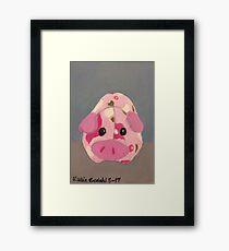 Cute Lil' Piggy Framed Print