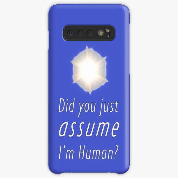 Did You Just Assume I'm Human? Samsung Galaxy Snap Case