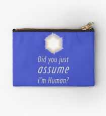 Did You Just Assume I'm Human? Studio Pouch