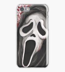 Ghost Face Scream Movie  iPhone Case/Skin