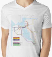 San Francisco Metro Map T-Shirt
