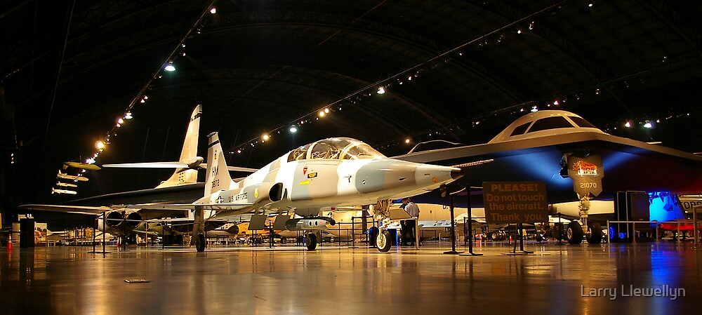 Wright Paterson Air Force Museum by Larry Llewellyn