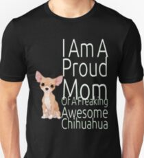 Proud Mom Of Awesome Chihhuahua Women's T-Shirt T-Shirt