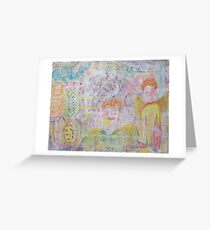 Angels on High Greeting Card