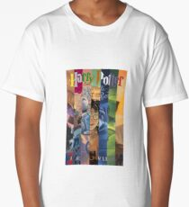 Harry Potter Cover Collage Long T-Shirt