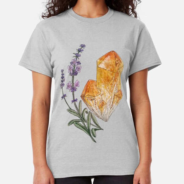 Lavender and Citrine Classic T-Shirt