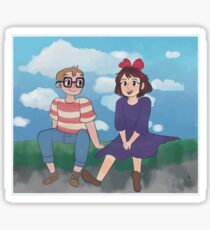 Kiki's Delivery Service! Tombo and Kiki! Sticker