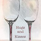 Hugs and Kisses by Sherry Hallemeier