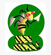 Bee Cool! - Beedrill Photographic Print