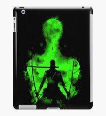 Roronoa Zoro Logo iPad Case/Skin