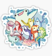 Shark Friends Sticker