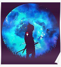 Sasuke Uchiha Logo Poster
