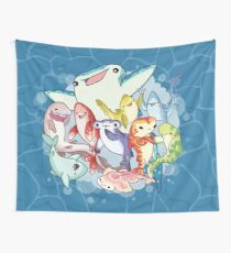 Shark Friends Wall Tapestry
