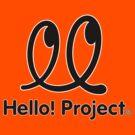Hello Project Old School Logo - Black/White by FoniMoni