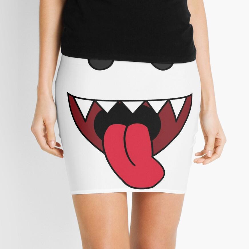 boo Mini Skirt