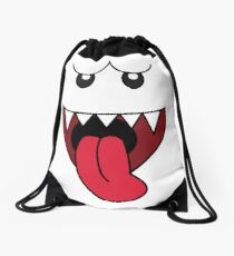 boo Drawstring Bag