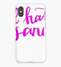 I Hate Sand Pink  iPhone Case