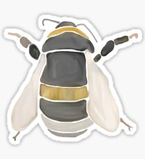 Watercolor Bumble Bee Sticker