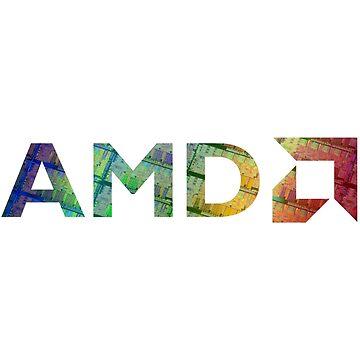 AMD Logo   Silicon by BHawk-Graphics