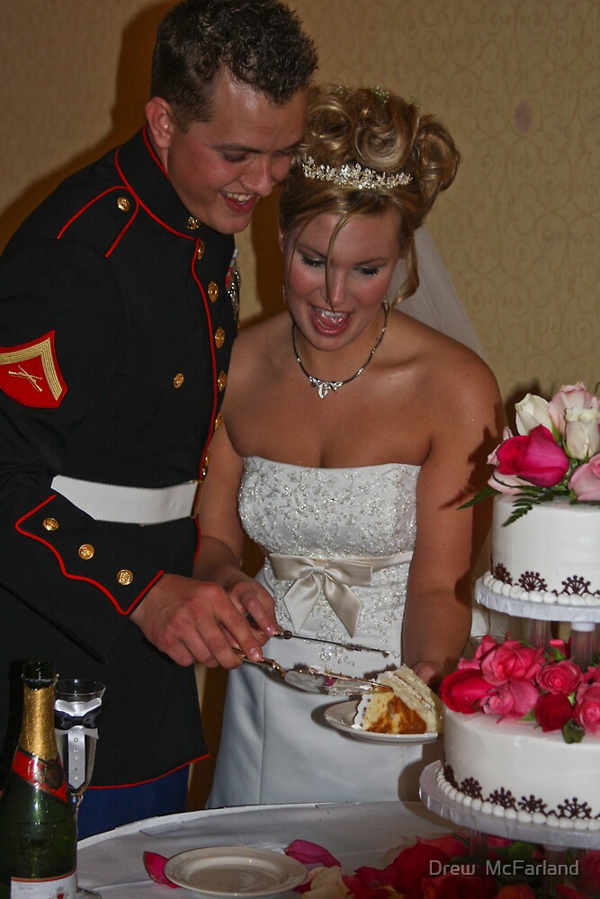 Cutting of The Cake by Drew  McFarland