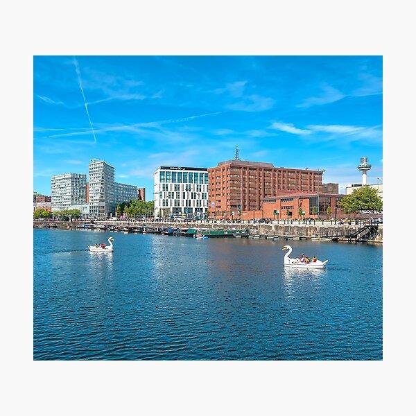 Salthouse Dock Photographic Print