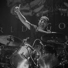 Suicidal Tendencies, Dave Lombardo by Ignacio Orellana Alarcon