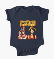D. Ace & Luffy One Piece Kids Clothes
