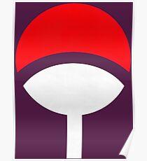 Uchiha Clan Symbols Poster