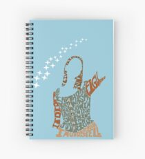 Under your spell Spiral Notebook