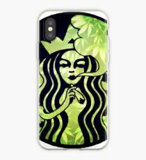 Starbucks | Weed Logo iPhone Case
