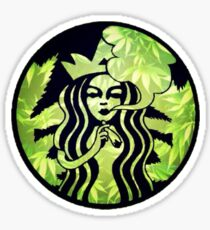Starbucks | Weed Logo Sticker