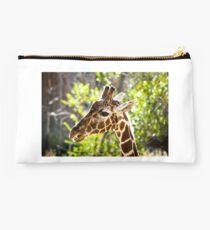 giraffe in the trees Studio Pouch