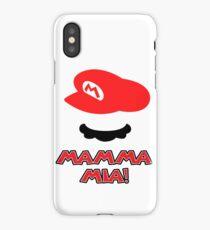 Mario Mamma mia! iPhone Case/Skin