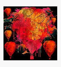 Balloon Explode  Photographic Print