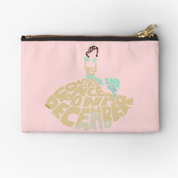 Once upon a december Zipper Pouch