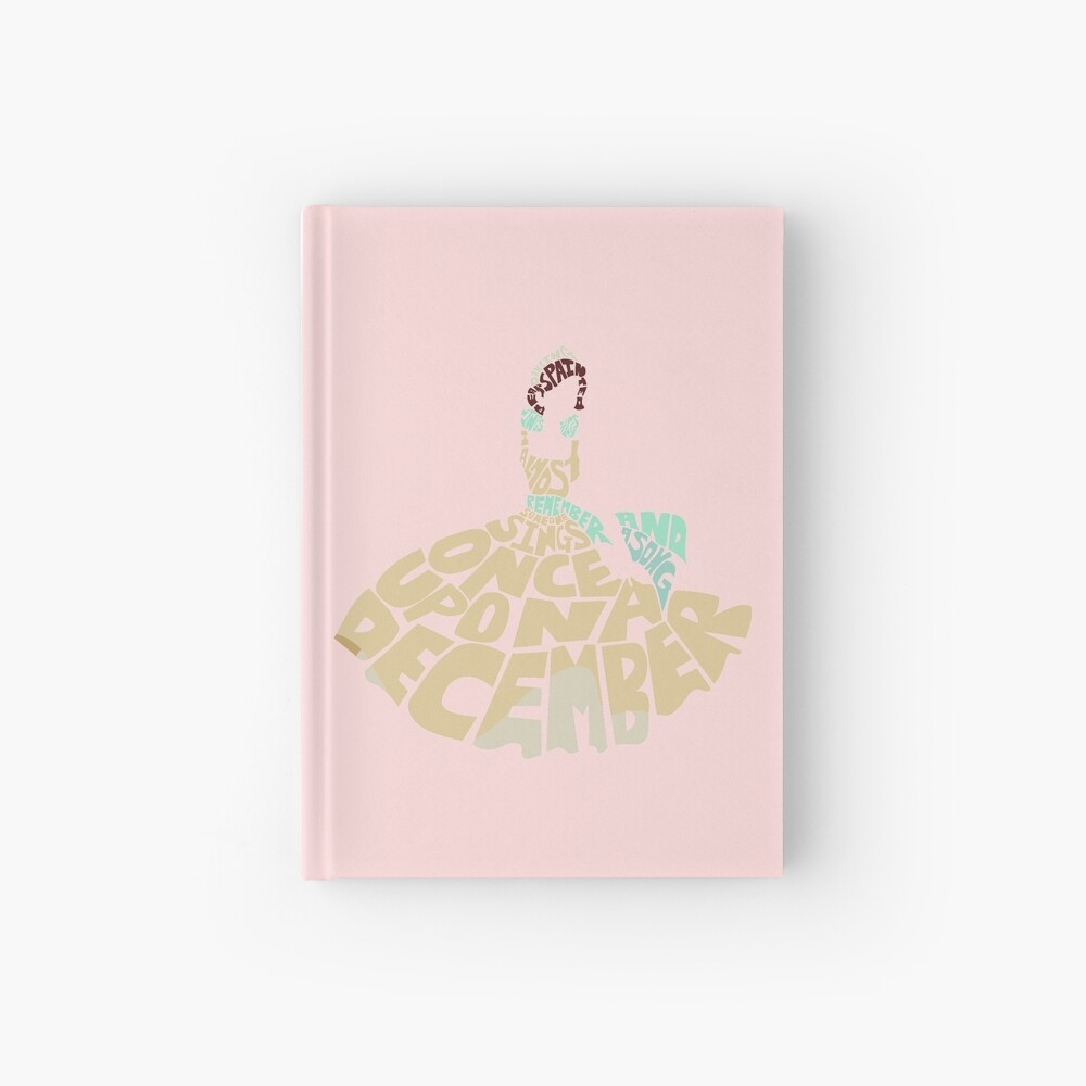 Once upon a december Hardcover Journal