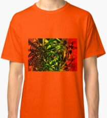 Psycedelic Forest Design Classic T-Shirt