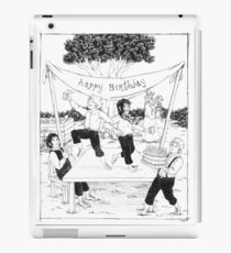 A Hobbit Birthday iPad Case/Skin