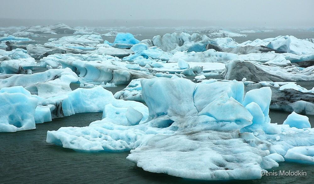 Coloured Icebergs by Denis Molodkin