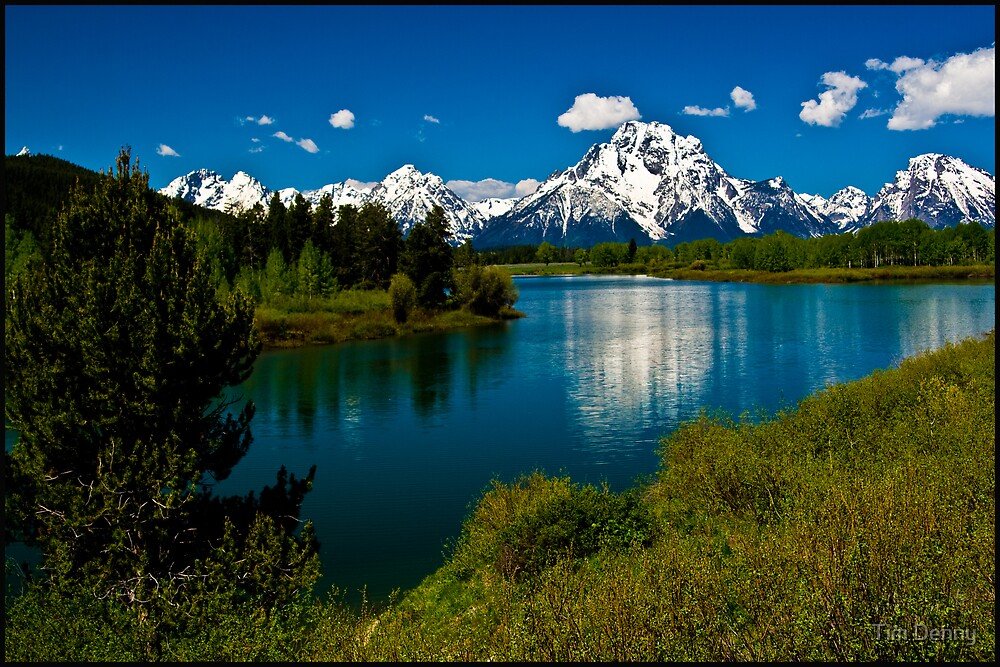 ~ The Magestic Tetons ~ by Tim Denny
