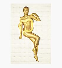 Golden Girl Photographic Print