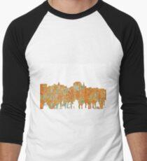 Augusta, Maine Skyline - SG - Rust T-Shirt
