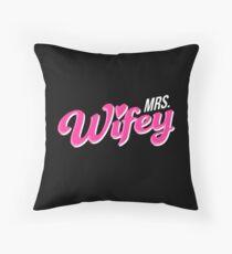 Mrs. Wifey Throw Pillow