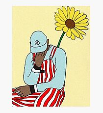 Tyler, the Creator - Flower Boy Art Photographic Print