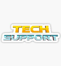 Marvel Themed Tech Support Design Sticker