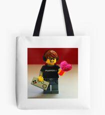 Lego Gamer Valentines Tote Bag