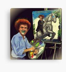 Steve Brule paints Canvas Print