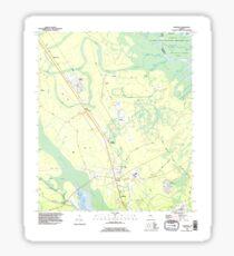 USGS TOPO Map Georgia GA Sterling 247016 1993 24000 Sticker