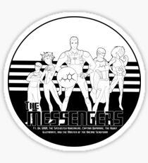 Messengers, Assemble!  (Neurotransmitters)  Sticker