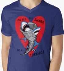 Shark To My Tornado Men's V-Neck T-Shirt